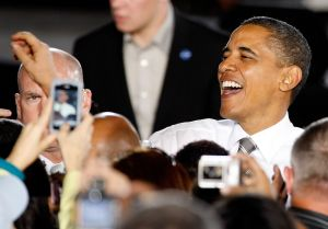 President Obama Holds Rally In Las Vegas With Harry Reid