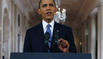 President Obama Announces Drawn Down Of Troops From Afghanistan
