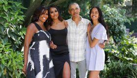 Obama Thanksgiving 2019 Photo