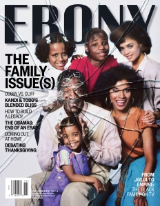 "Ebony's ""The Cosby Show"" Cover"