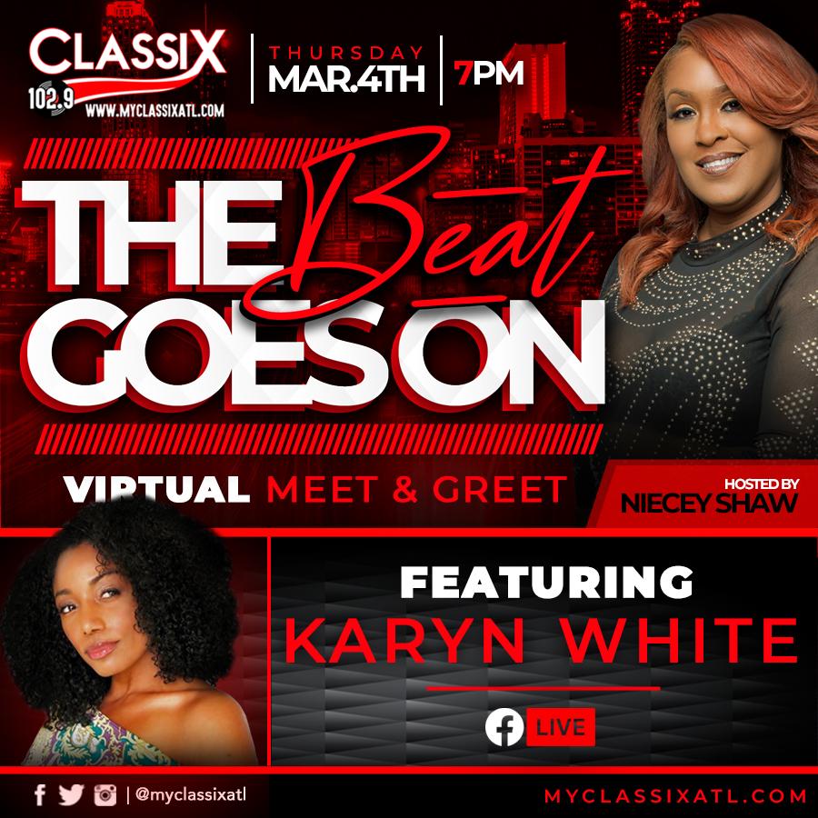 The Beat goes on Karyn White