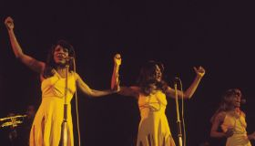 The Ikettes Perform On Stage